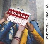 Small photo of Mathematics Equation Calculate Algebra Function Concept