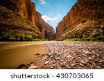Santa Elena Canyon Stands High...