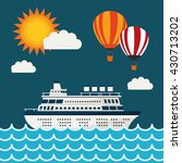 summer design. holidays icon.... | Shutterstock .eps vector #430713202