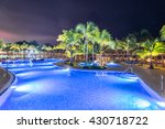 swimming pool at a luxury... | Shutterstock . vector #430718722