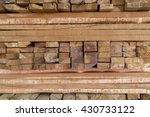 pattern of rough sawn timber in ... | Shutterstock . vector #430733122