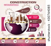 building and construction... | Shutterstock .eps vector #430764085