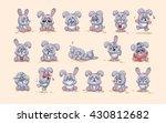 set vector stock illustrations... | Shutterstock .eps vector #430812682