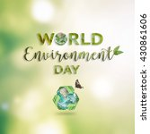 world environment day  june 5... | Shutterstock . vector #430861606