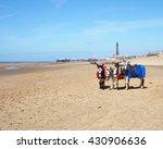 Blackpool Beach And Promenade