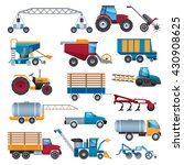 agricultural and farming... | Shutterstock .eps vector #430908625