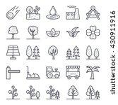nature  park  plants  trees... | Shutterstock .eps vector #430911916