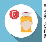 medical care concept. nurse... | Shutterstock .eps vector #430912048