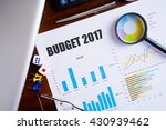 """budget 2017"" text on paper... 