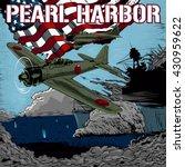attack on pearl harbor vector... | Shutterstock .eps vector #430959622
