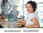 image of a succesful casual... | Shutterstock . vector #431000965