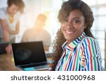 image of a succesful casual... | Shutterstock . vector #431000968