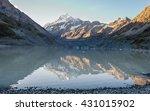 a beautiful scenery of a peak... | Shutterstock . vector #431015902