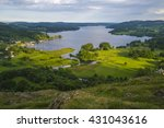 a view of lake windermere from...