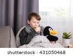 cough in children | Shutterstock . vector #431050468