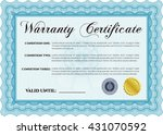 warranty template. with
