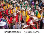 oruro  bolivia  february  2008  ... | Shutterstock . vector #431087698