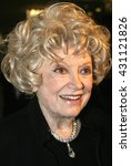 Small photo of Phyllis Diller at the 'A Place Called Home 11th Annual Gala' for the Children at the Beverly Hilton Hotel in Beverly Hills. USA on October 28, 2004.