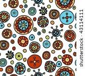 seamless hand drawn pattern | Shutterstock .eps vector #43114111