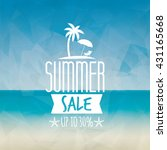 summer sale label | Shutterstock .eps vector #431165668
