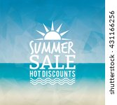 summer sale label | Shutterstock .eps vector #431166256