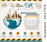 building and construction... | Shutterstock .eps vector #431177476