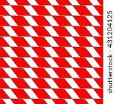 rhombus red seamless pattern.... | Shutterstock .eps vector #431204125