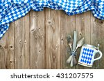 rustic background for... | Shutterstock . vector #431207575