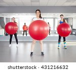 fitness  sport  training and... | Shutterstock . vector #431216632