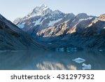 a beautiful scenery of a peak... | Shutterstock . vector #431297932