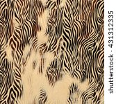 Texture Of Print Fabric Striped ...