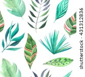 seamless pattern with... | Shutterstock . vector #431312836