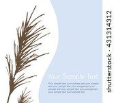 composite image of twigs ... | Shutterstock .eps vector #431314312