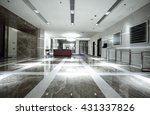 luxury lobby interior.with...   Shutterstock . vector #431337826