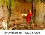 omo  ethiopia   september 21 ... | Shutterstock . vector #431357206
