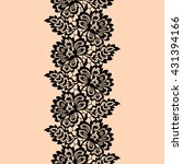 lace seamless pattern | Shutterstock .eps vector #431394166