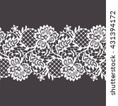 lace seamless pattern | Shutterstock .eps vector #431394172