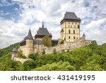 karlstein  czech republic   may ...   Shutterstock . vector #431419195