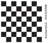 vector modern empty chess board ... | Shutterstock .eps vector #431424988