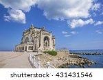 beautiful summer landscape with ... | Shutterstock . vector #431431546