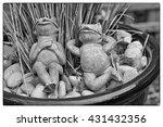 Two Relaxing Garden Frogs...