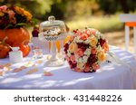 Bright Wedding Bouquet With...