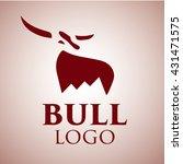 bull logo  4 | Shutterstock .eps vector #431471575