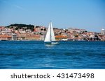 View Of Lisbon Skyline From...