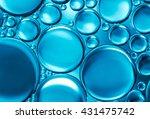 abstract water bubbles light... | Shutterstock . vector #431475742