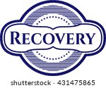 recovery with jean texture | Shutterstock .eps vector #431475865