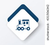 train icon | Shutterstock .eps vector #431506342