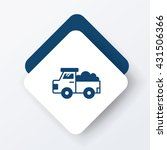 truck icon | Shutterstock .eps vector #431506366