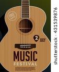 music festival poster. acoustic ...   Shutterstock .eps vector #431539876