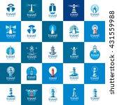 vector lighthouse logo   Shutterstock .eps vector #431559988